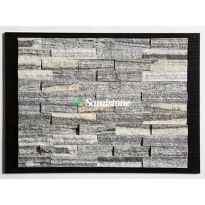 Samistone-Nero-Santiago-Gray-Cultured-Stone- Split1