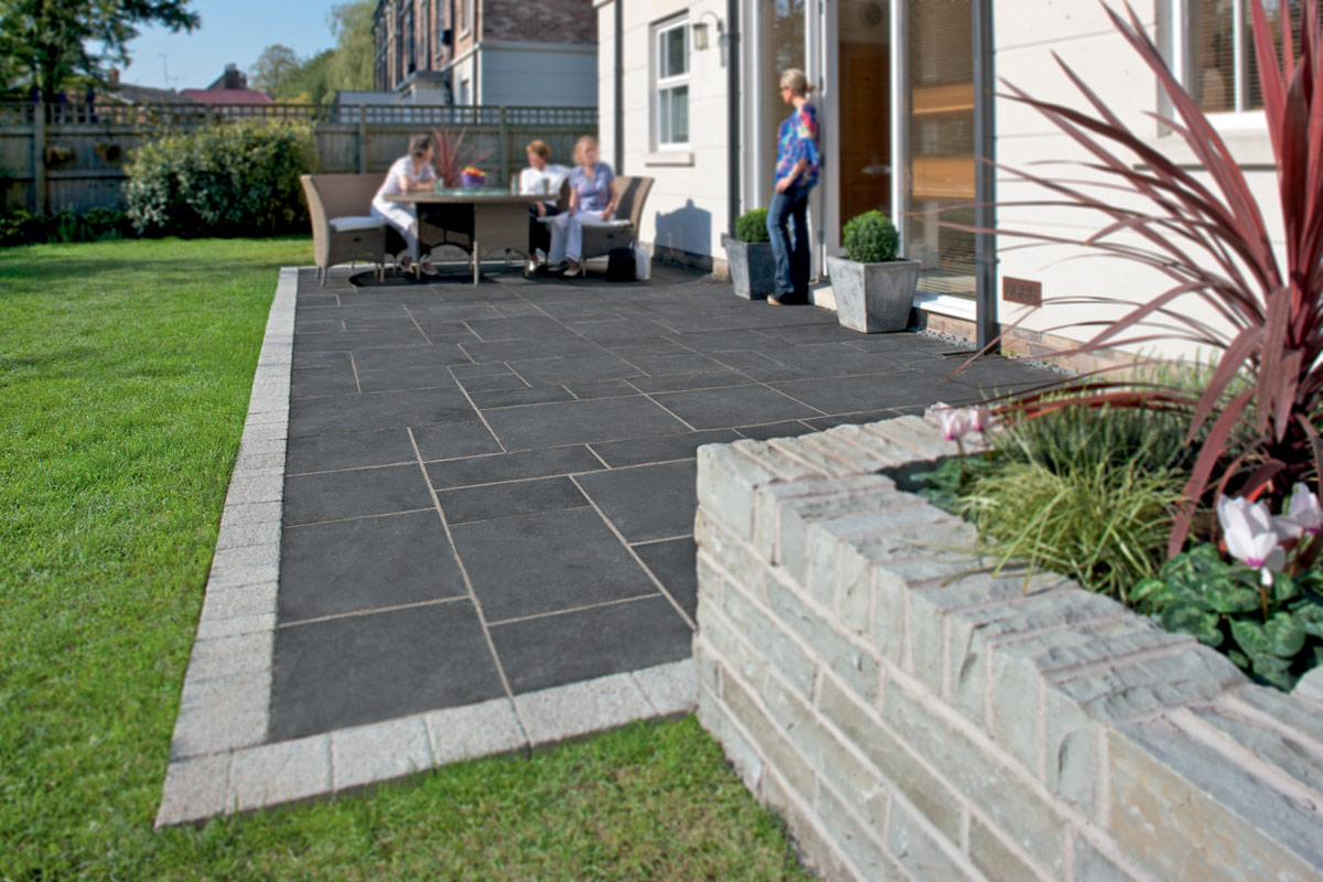 Samistone Blue Limestone 200400 Non Slip Cheap Outdoor