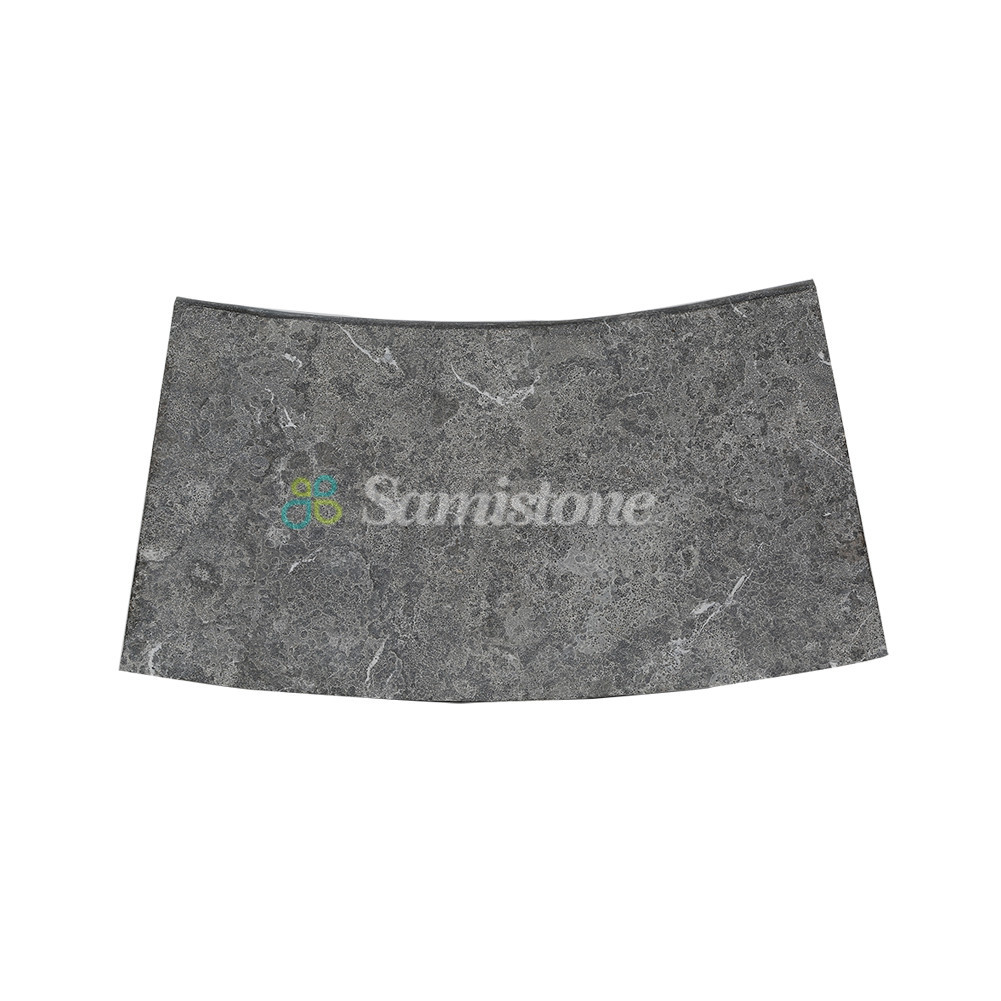 Samistone Blue Limestone Swimming Pool Coping Stones china factory ...