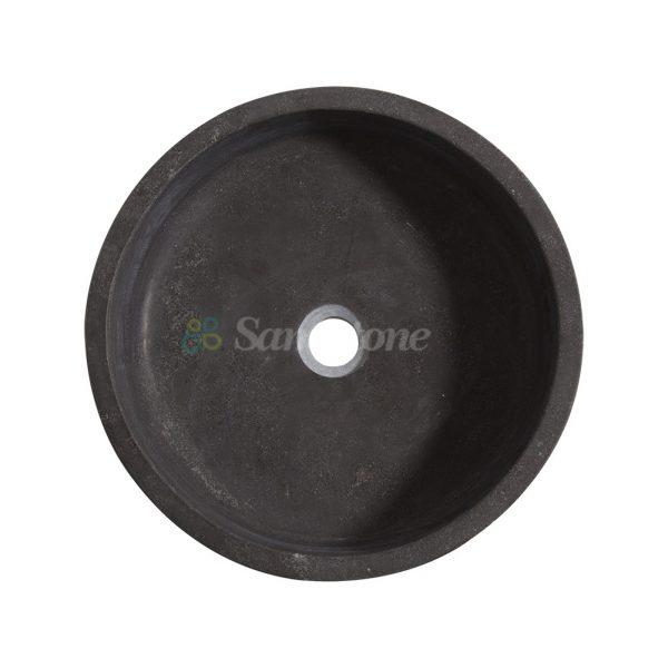 samistone-blue-limestone-round-garden-sink