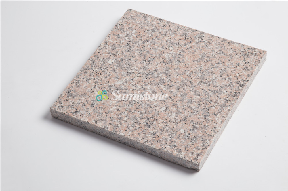 Samistone Canaly Dark Red Granite Tile Counters G367