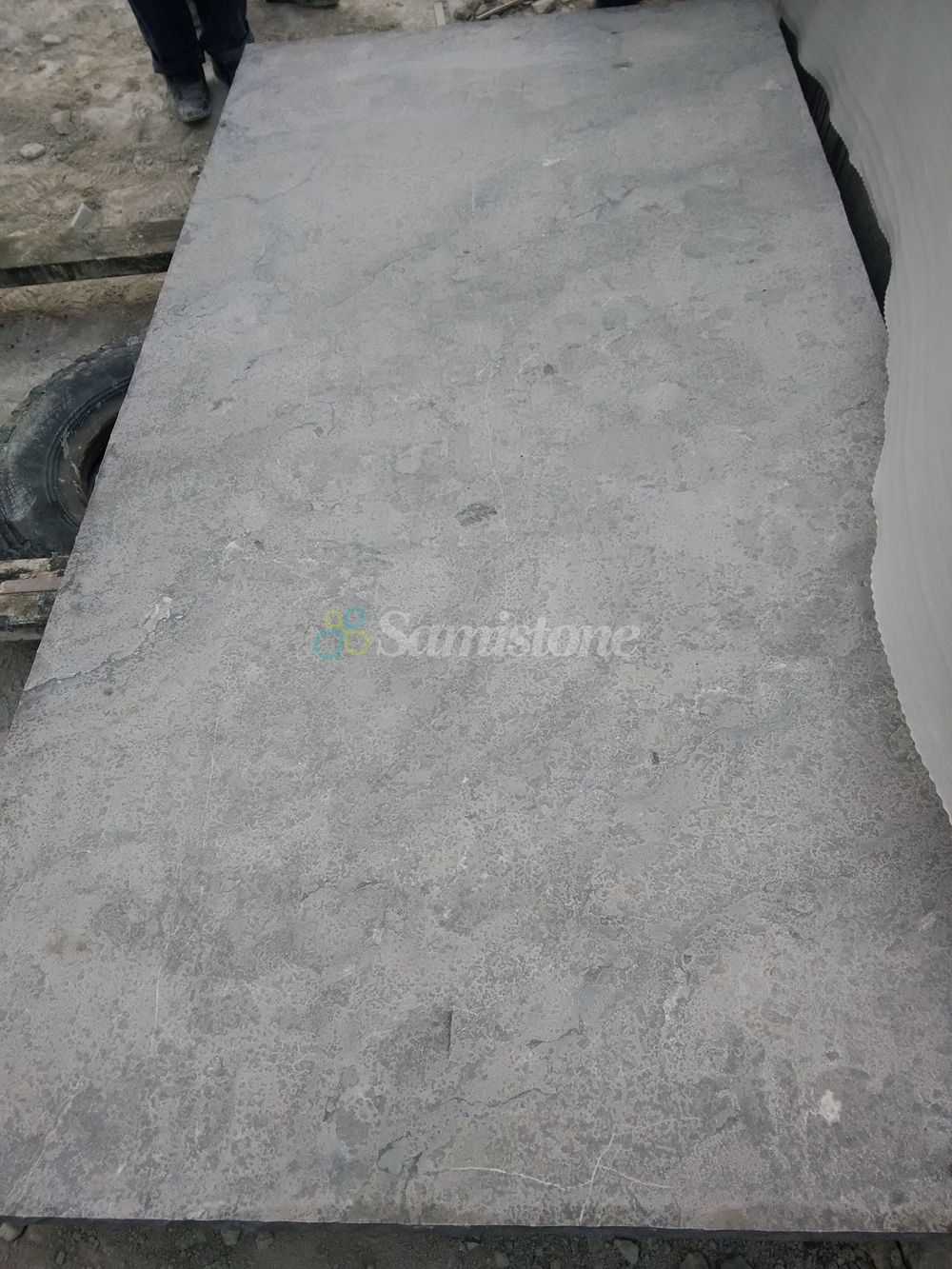 Samistone Bluestone Flamed Amp Brushed Slabs Countertops