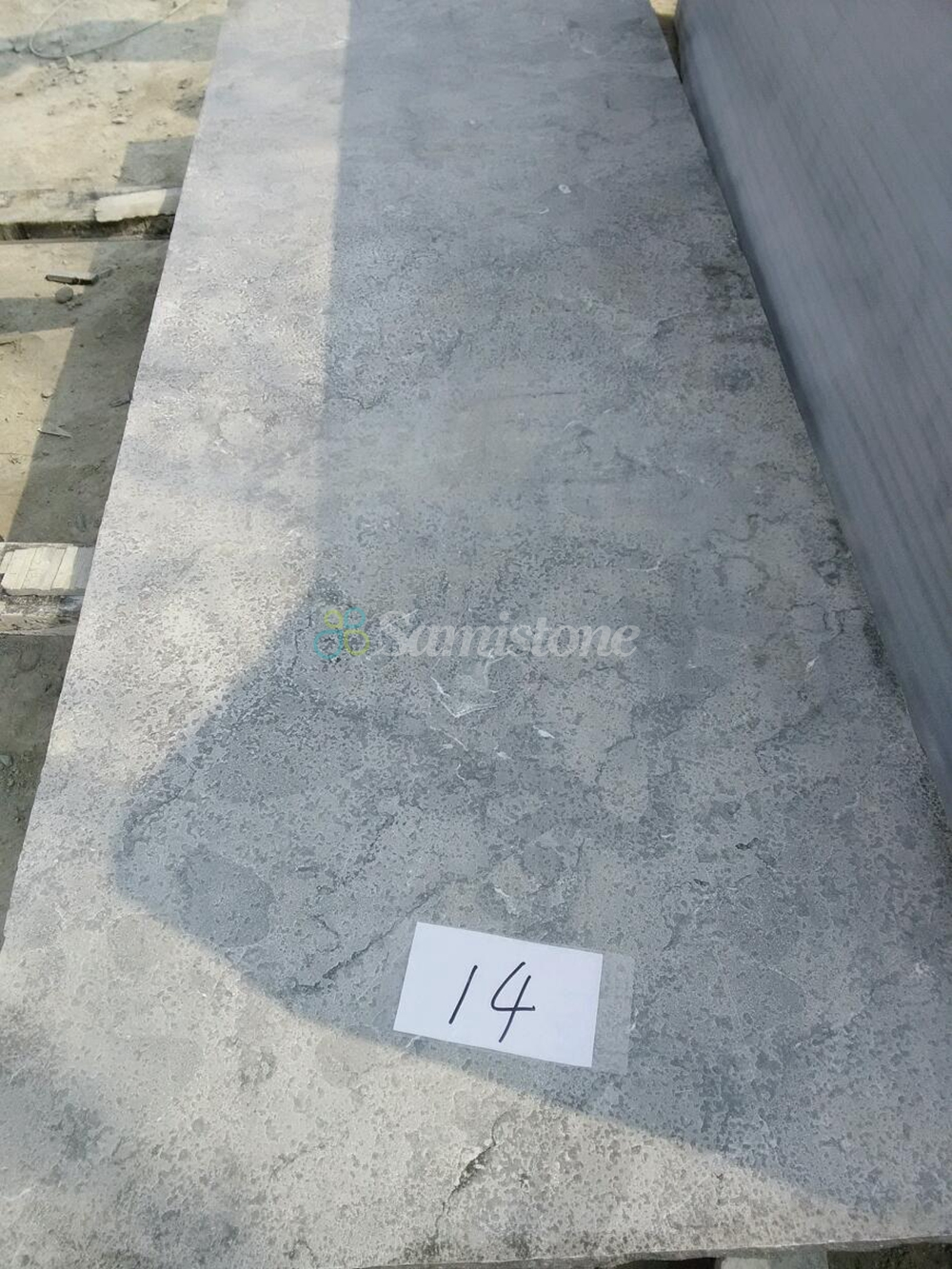 Samistone bluestone flamed brushed slabs countertops for Bluestone pricing