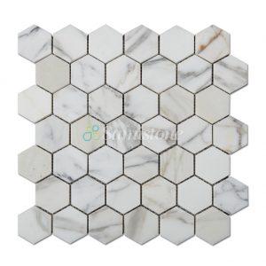 samistone-calacatta-gold-marble-2-hexagon-mosaic-tile