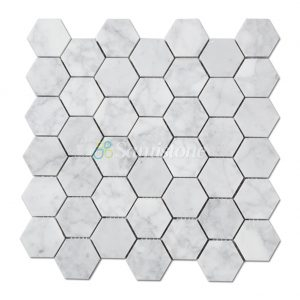 samistone-carrara-white-marble-2-hexagon-mosaic-tile
