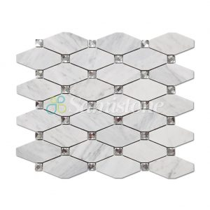 CTR-MM-LC15015-Bianco-Carrara-Long-Octagon-(1)