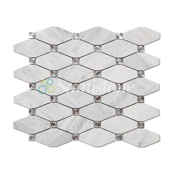 CTR-MM-LC15015-Bianco-Carrara-Long-Octagon-(1)