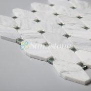 CTR-MM-LC15015 Bianco Carrara Long Octagon (4)
