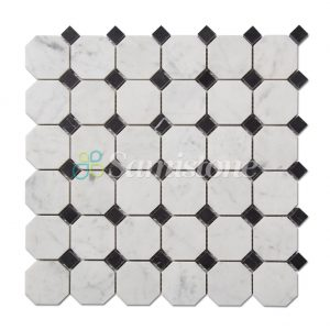 CTR-MM-SC15041-Bianco-Carrara-Nero-Marquina-Square-Octagon--(1)