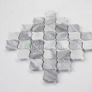 Carrara Grey Mosaic Series (15)