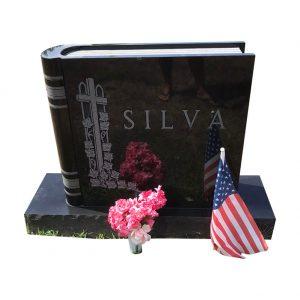 Book Shape Tombstone (5)
